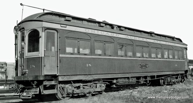 CA&E Car 18.