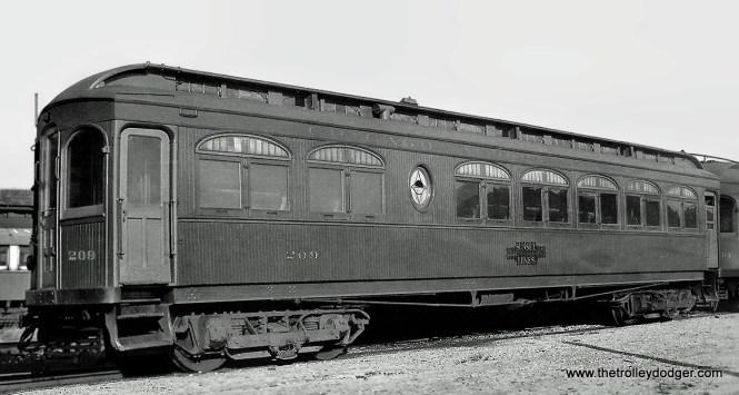 CA&E 209 at Wheaton Shops in 1924.