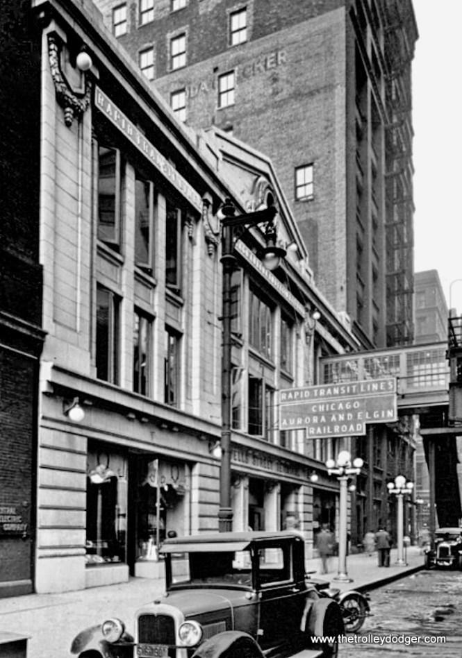 The Wells Street Terminal, street side.