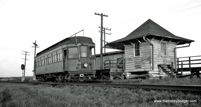 CA&E 141 at Batavia Junction.