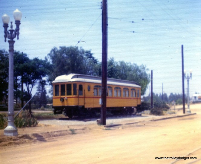 I assume this is probably an ex-PE car at the Orange Empire Railway Museum on May 31, 1974.