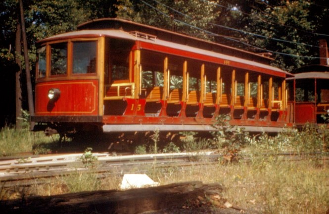 Car 15 on July 7, 1946. (Bill Volkmer Collection)