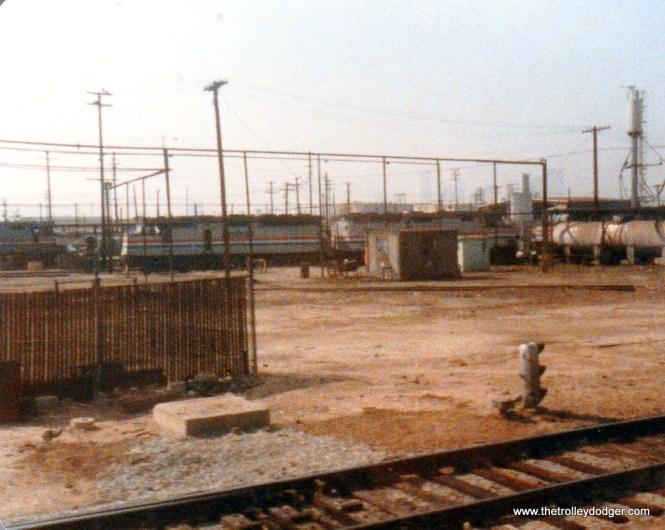 Amtrak Redondo engine maintenance facility.