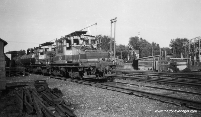 Chicago Aurora & Elgin freight locos 2001 and 2002.