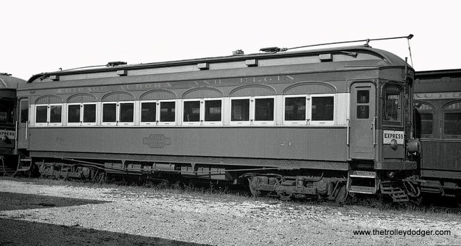 CA&E 24, built by Niles in 1902.