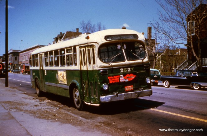 CTA 2527 is at 25th and Laramie in Cicero, the west end of Route 58 - Ogden. The date appears to be the late 1950s.