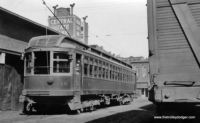 Michigan Railway Lines - Car 16.