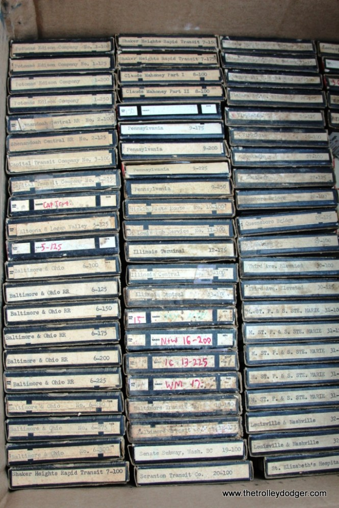 12 Another view of the Small reels -the master tapes for the 78rpm records