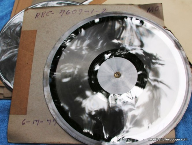 14 Metal press stamp for RRC LP