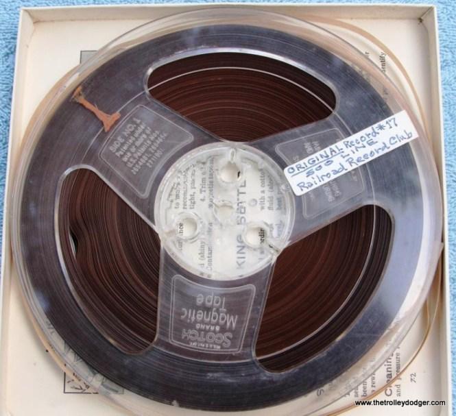 28 master tape Railroad Record Club number 17