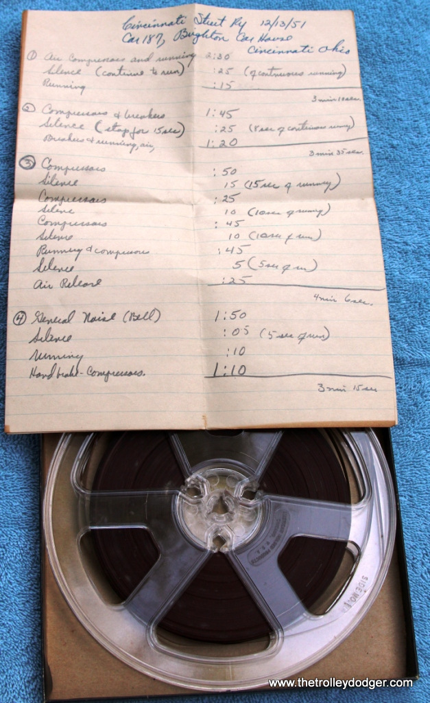 3 Tape with hand written track listing