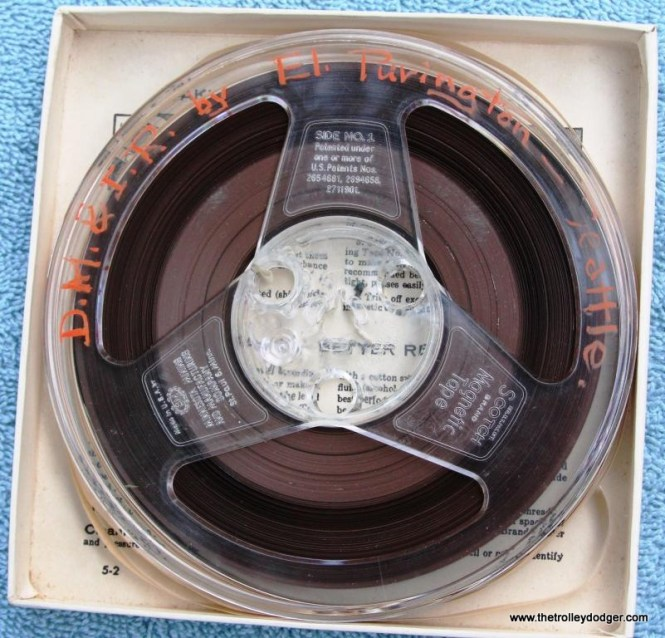 36 master tape Railroad Record Club number 17