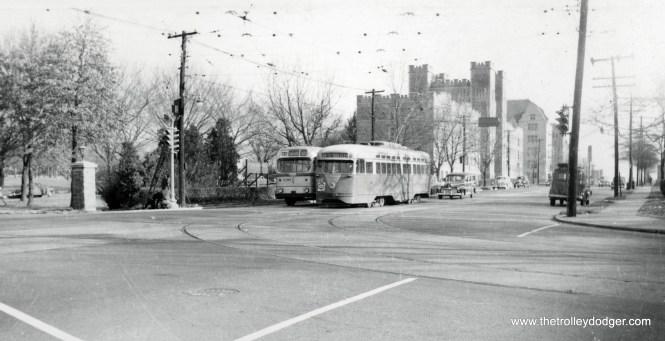 Capital Transit PCC and bus Catholic University