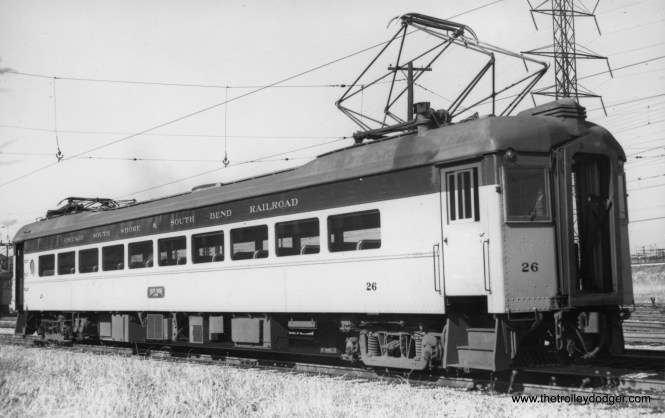 #26 in Gary on October 29, 1949. (Gordon E. Lloyd Photo)