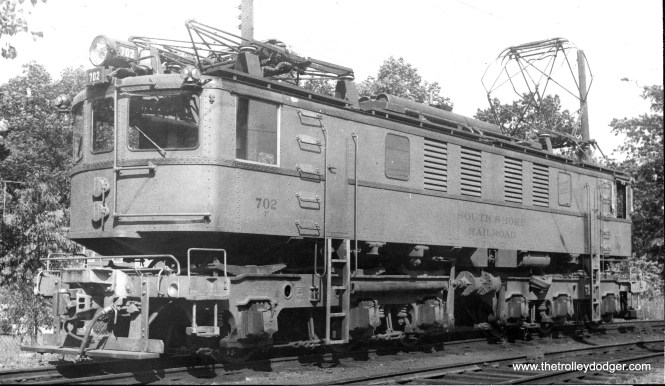 Loco 702, lettered for South Shore RR.