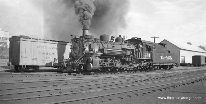 Denver and Rio Grande Western 481.
