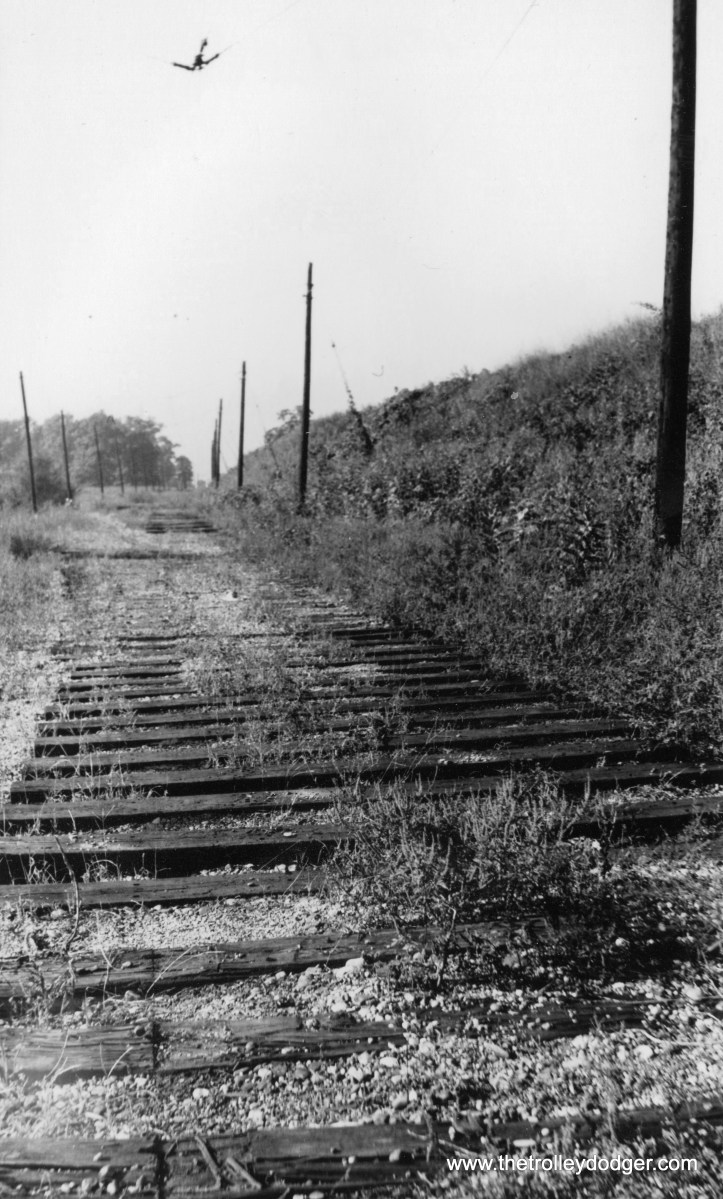 Indiana Railroad Vigo with rails ripped out.