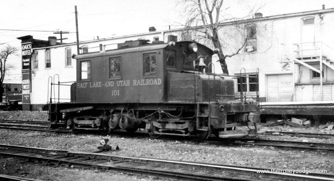 Salt Lake and Utah loco #101.