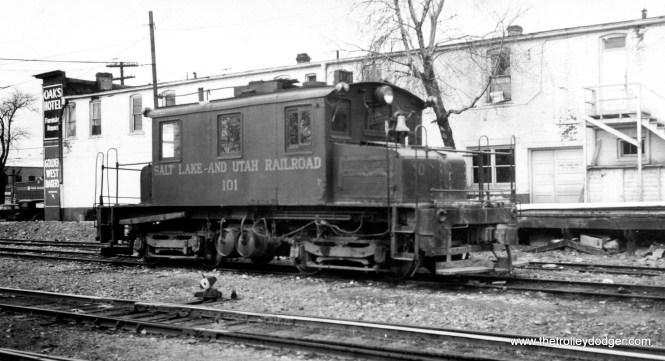 Salt Lake and Utah loco #101.