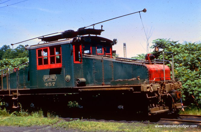 NSL loco 457.