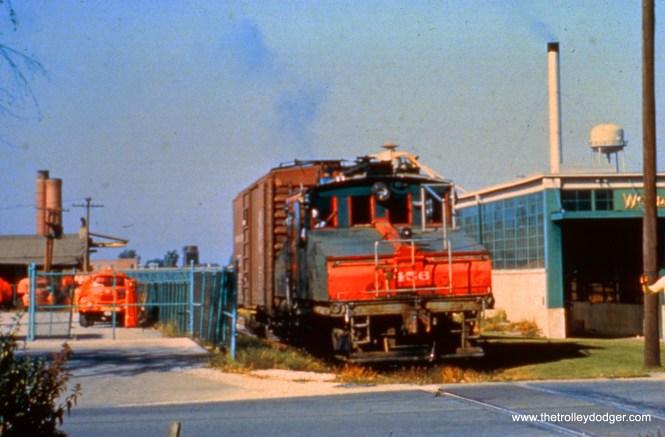 NSL loco 456 at Weber.