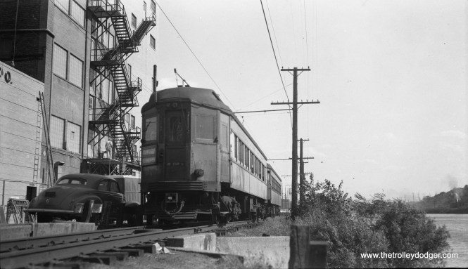 CA&E 401 at the end of the line in Elgin.