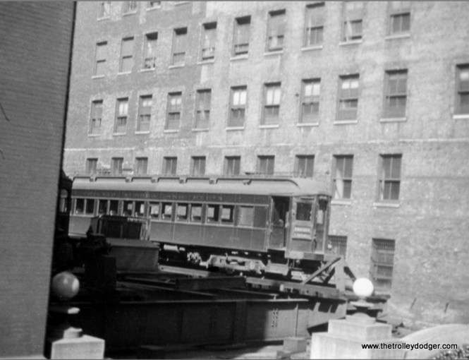 The first steel cars on the CA&E were built by Pullman in 1923. This picture was taken between that date and 1926, when the Wells Street Terminal was renovated and expanded, with the addition of two more floors to the facade facing Wells Street. The terminal continued in use until 1953.