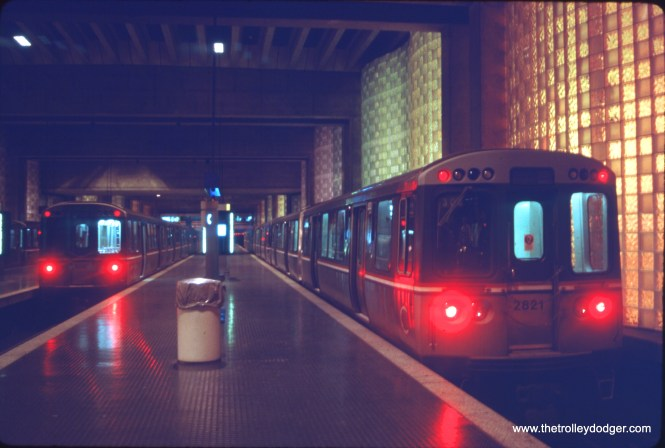 CTA 2600s at O'Hare Airport on June 25, 1992.