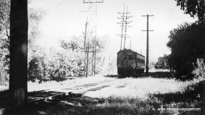 I am not sure of the location of this CA&E car. Could this possibly be on the Batavia branch?