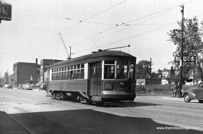 CSL 1994 at Division and Lavergne in May 1943.