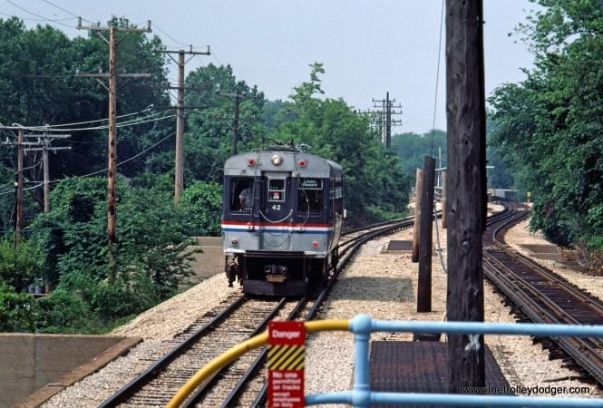 CTA 42 Evanston service n-b at Foster 7-1981