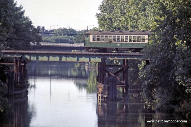CTA 4000 series North Branch Chicago River 9-1969