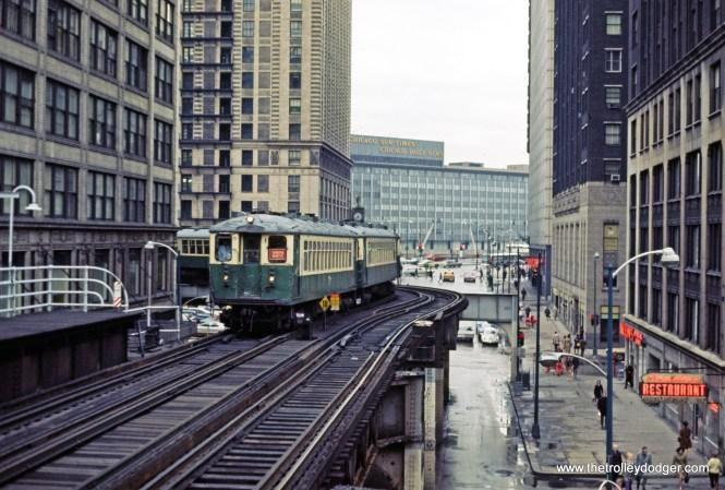 CTA 4000 series Evanston Express Wabash-Lake 5-1971