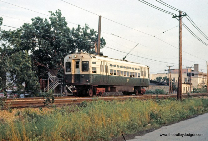 CTA 42 Evanston North of Main Street Station 9-1969