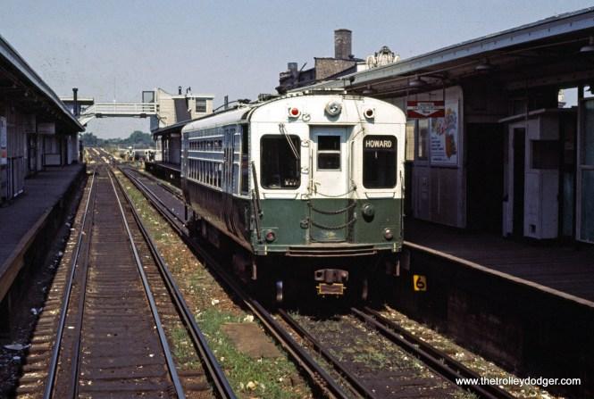 CTA 1-50 series Evanston Howard Terminal 9-1969