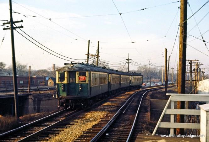 CTA 4000 series Evanston Express Main Street Evanston 2-1970