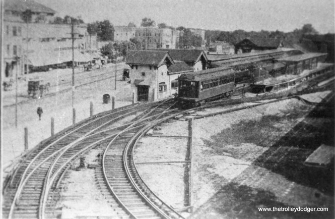 The Wilson Lower Terminal, which opened in 1907.  I used a better quality image in the book.