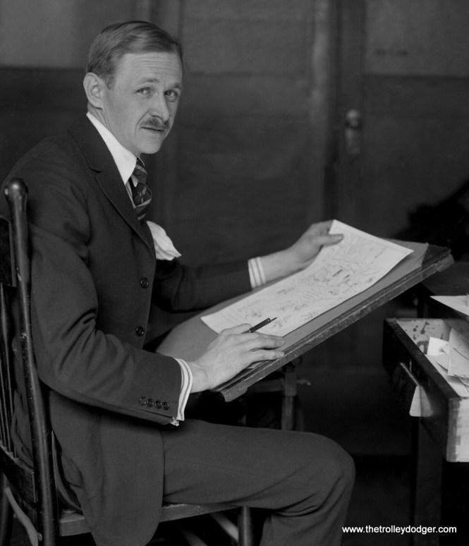 Cartoonist Fontaine Fox (1884-1964) in 1911.
