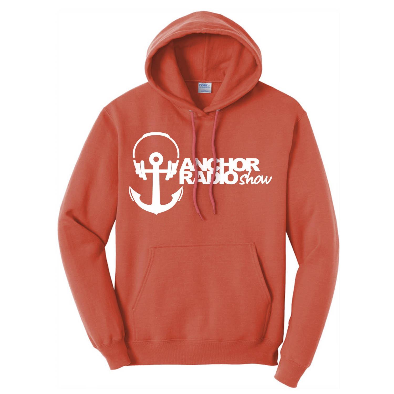 Anchor Radio Color Unisex Hooded Sweatshirt, The Troprock Shop