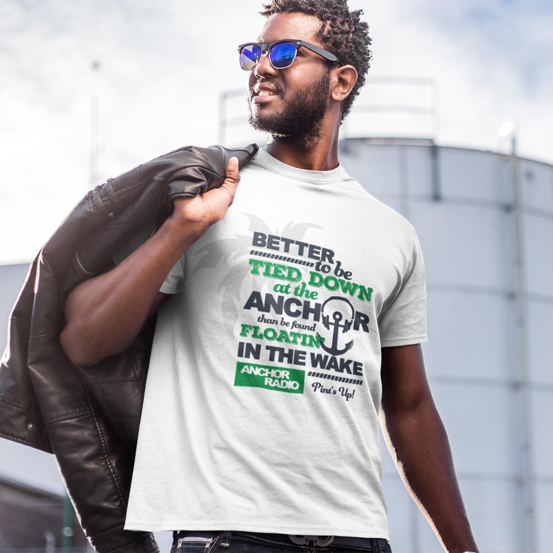 Anchor Radio Show Tied Down Logo Unisex T-Shirt, The Troprock Shop