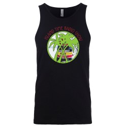 Island Time Radio Show Key West Logo Men's Tank Top, The Troprock Shop