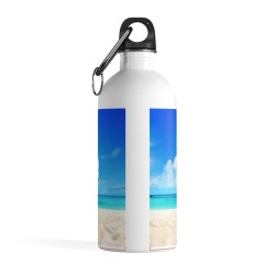 Shore Life Radio Stainless Steel Water Bottle, The Troprock Shop