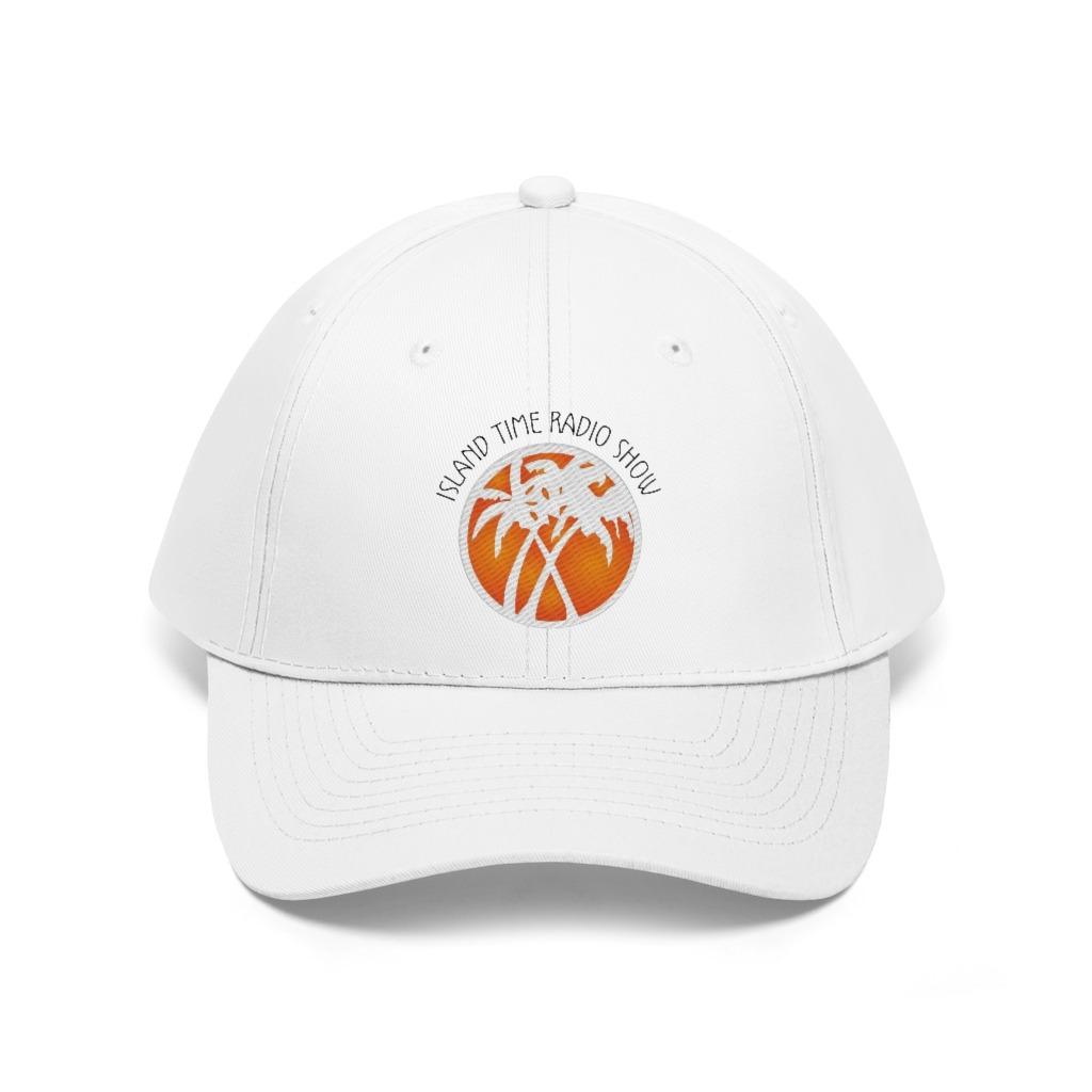 Island Time Radio Show Unisex Twill Hat, The Troprock Shop