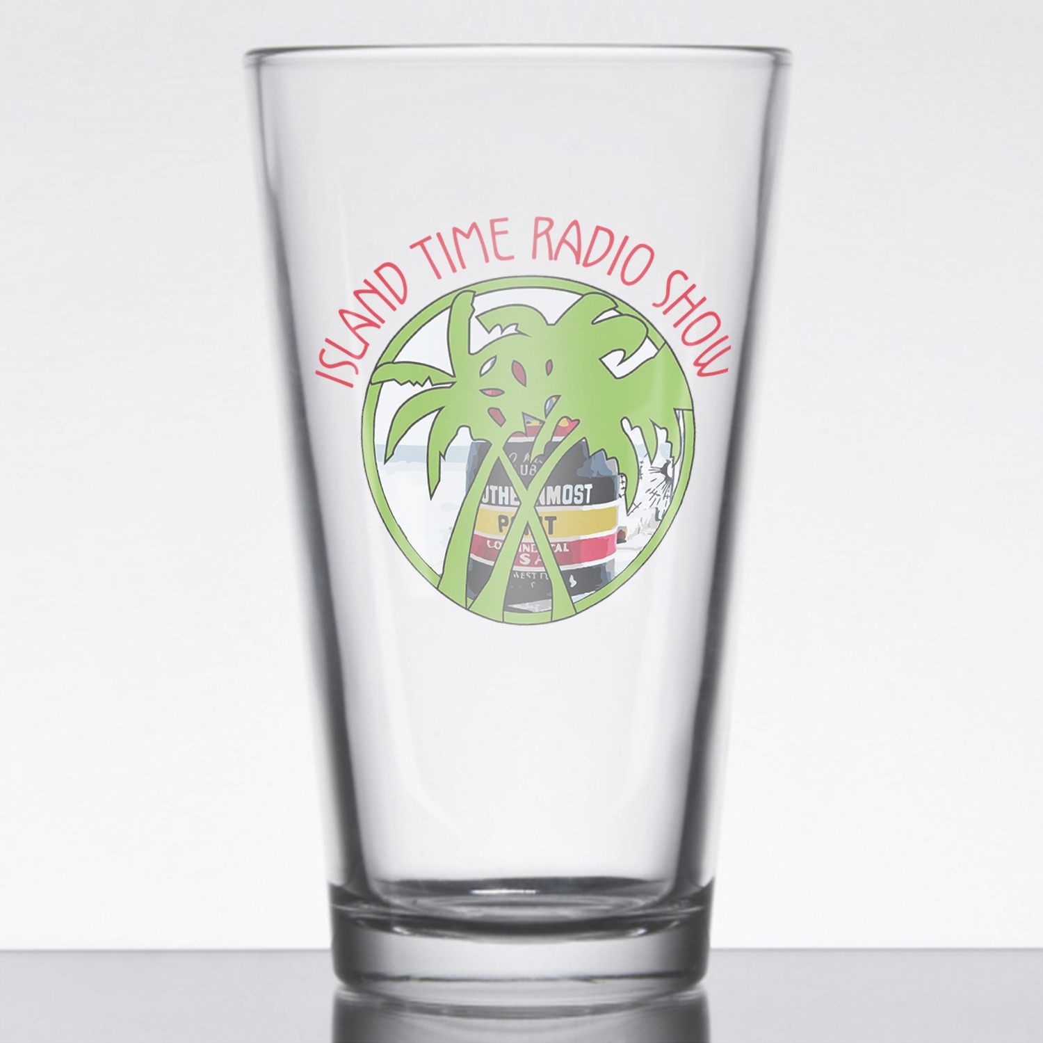 Bahama Mama and the Painkillers Double T Pint Glass, The Troprock Shop