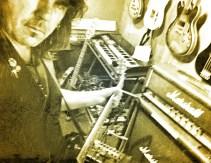 Recording Studios-Pete Holidai-Steve Rapid-Johnny Bonnie-Tony St Ledger- Bren Lynott- Tony St Ledger Photography-567