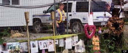 Pickton farm and memorial