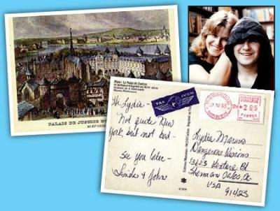 Postcard from beyond