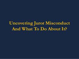 juror-misconduct