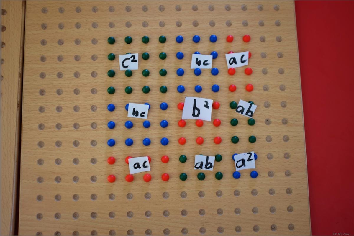 Trinomial Square Of A B C