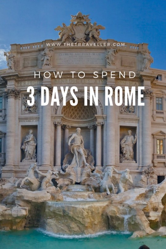Rome in 3 Days.